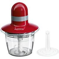 Измельчитель Bosch MMR 08 R 2, 400 Вт, 0.8 л, 1 скорость, пластик, красный