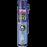 Пена монтажная бытовая всесезонная 750 мл O2  TYTAN LEXY  60