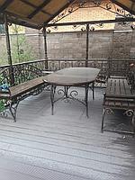Изготовление садовых беседок, садовой мебели, мангалов, декоративных решеток на окна