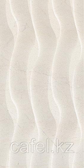 Кафель | Плитка настенная 30х60 Крема марфил фюжн | Crema marfil fusion бежевый волны