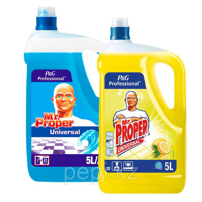 Mr. Proper, жидкость, 5л для пола и стен