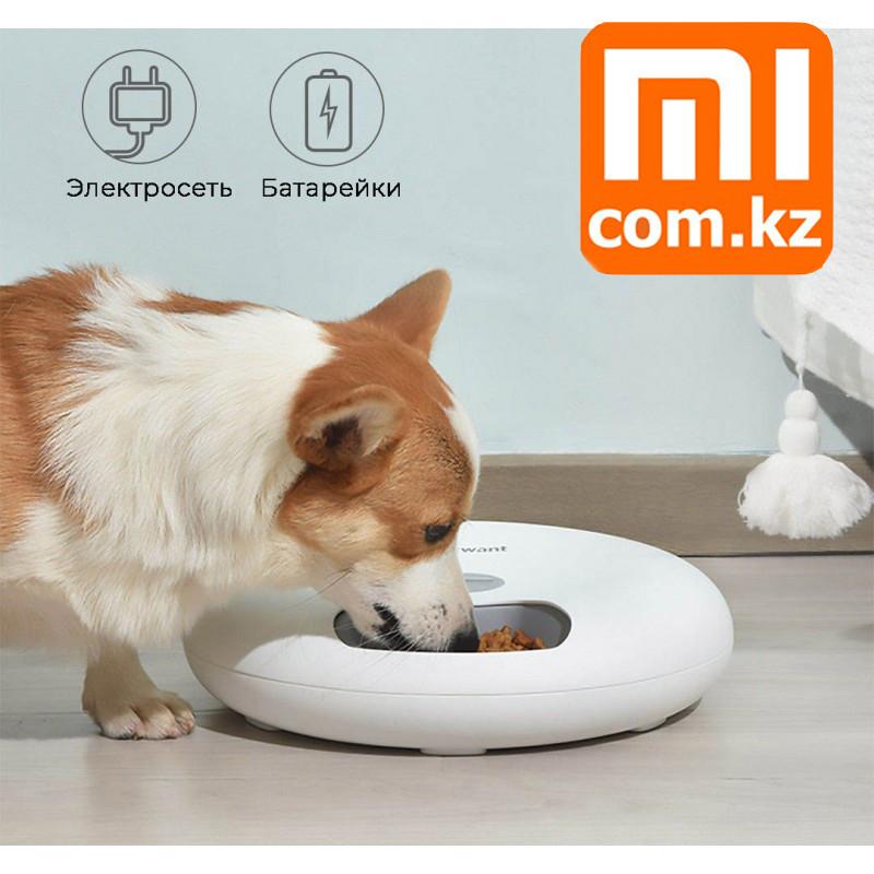Автокормушка для домашних питомцев, Xiaomi PetWant Food Feeder F6, Оригинал. Арт.6671