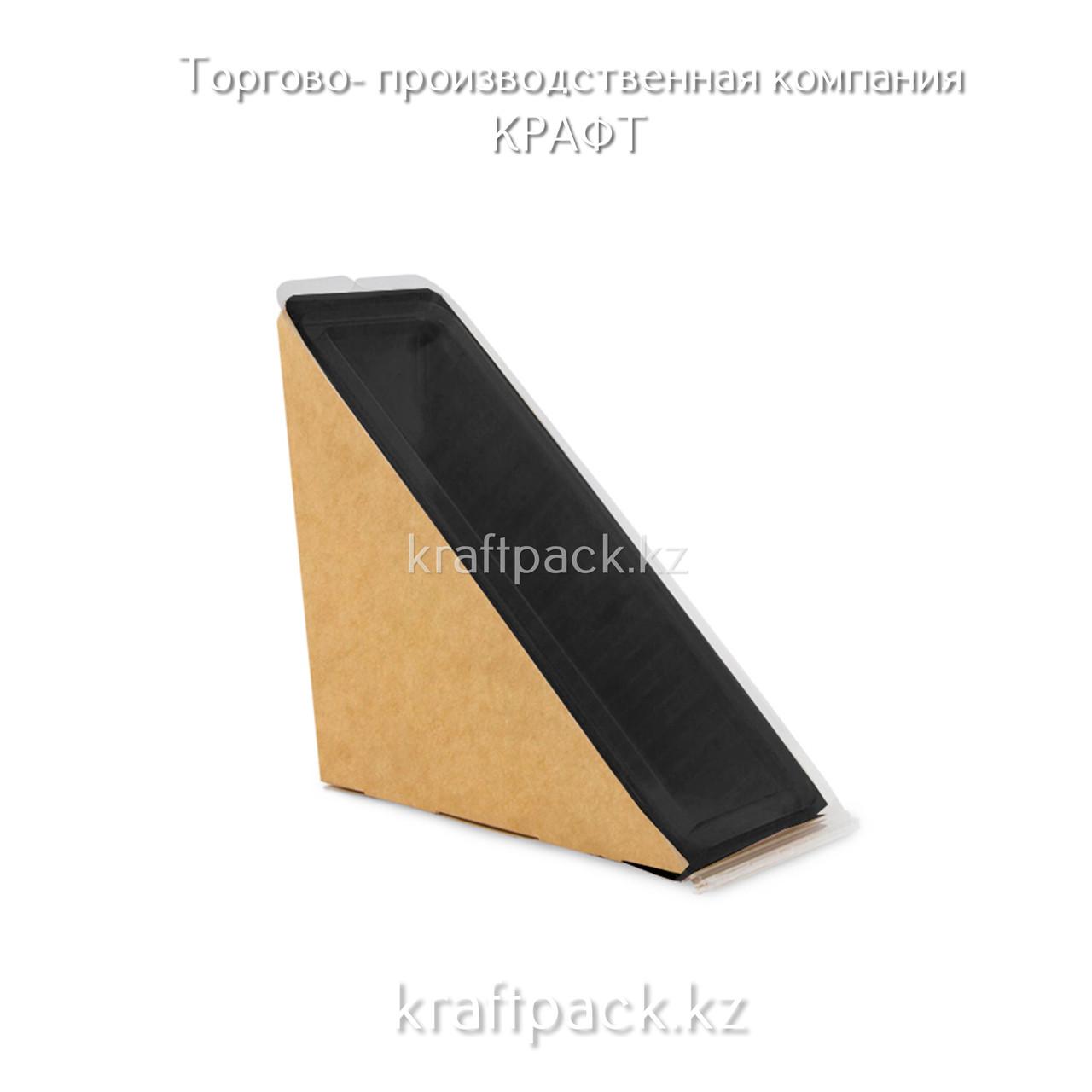 Упаковка ECO OpSandwich 60 Black Edition для сэндвичей/бутербродов (25/700)