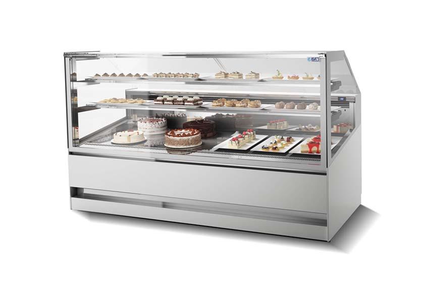 Витрина ISA 3D Show Pastry