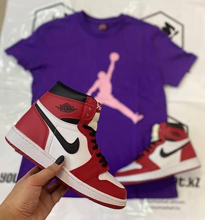 "Кроссовки Nike Air Jordan 1 Retro ""Chicago"", фото 2"