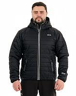 Куртка зимняя NOVATEX УРБАН (ткань нейлон, черный), размер 48-50