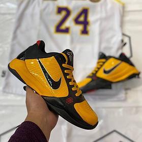 """Баскетбольные кроссовки Kobe 5 Protro """"Bruce Lee"""""""