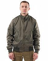 Куртка демисезонная Бомбер NOVATEX (ткань оксфорд, олива), размер 48-50
