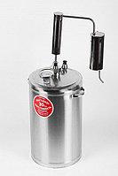 Домашний дистиллятор «Первач» Премиум Классик 16Т, 16 л, термометр, сухопарник, охладитель, слив сиву