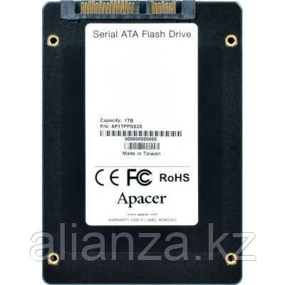 SSD диск Apacer PPSS25 1Tb AP1TPPSS25-R