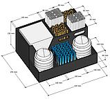 Диспенсер (органайзер) №8 для крышек, сахара, салфеток, трубочек и мешалок, фото 2