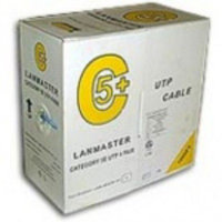 Витая пара Lanmaster LAN-5EUTP-PT-RD