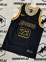 Баскетбольная майка «Лос-Анджелес Лейкерс» (Los Angeles Lakers) игрок Лебро́н Джеймс (LeBron James)