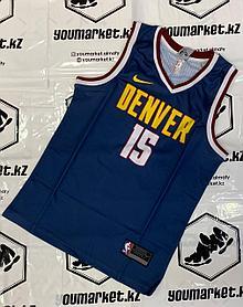 Баскетбольная Майка ( Джерси ) Denver Nuggets игрок Никола Йокич. Nikola Jokić