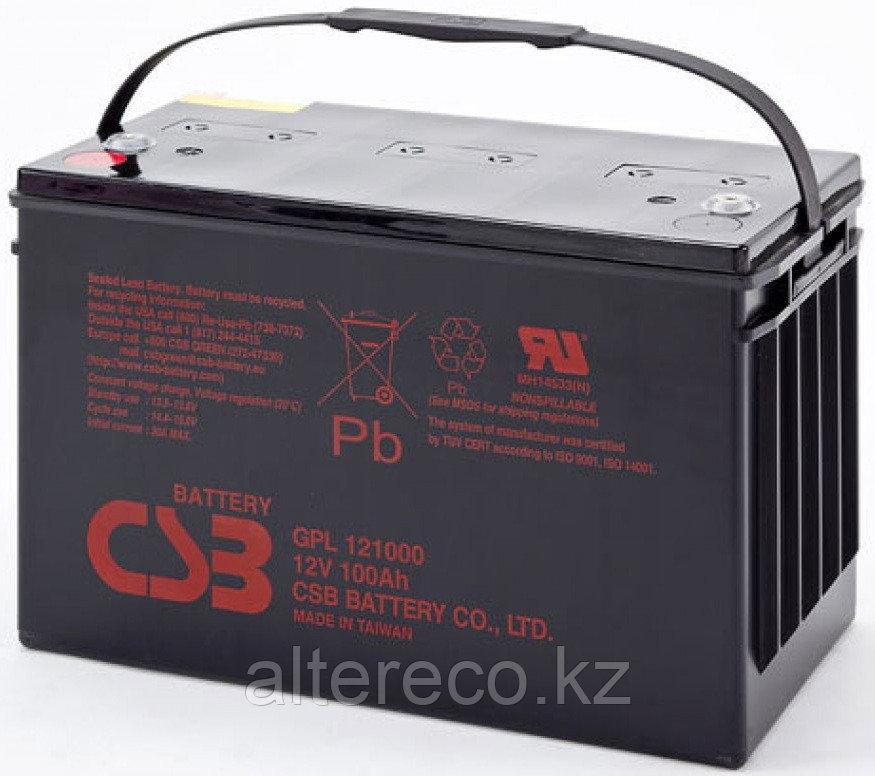 Аккумулятор CSB GPL121000A (12В, 100Ач)