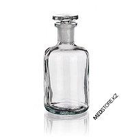 Склянки для реактива с узкой горловиной с притертой пробкой из светлого стекла (250 мл)