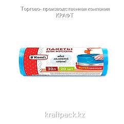 """Пакет мусорный """"Супер-прочный"""" ПCД  30л (20шт в рулоне)"""