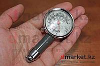 Манометр DM-01M аналоговый, 10 атм, дефлятор, фото 1
