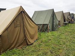 Особенности военных палаток