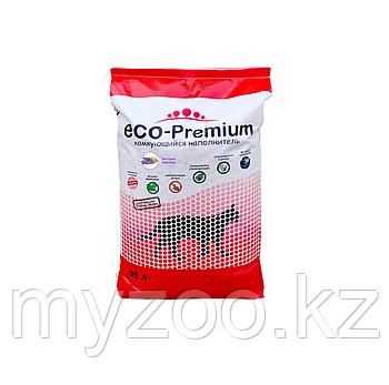 ECO-Premium Лаванда, 55 л - 20 кг |Эко-премиум комкующийся древесный наполнитель|