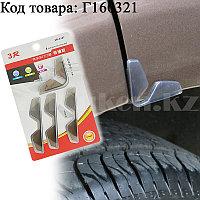 Накладки защитные на дверь машины универсальные 4 шт в ассортименте