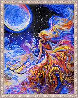 """Алмазная мозаика на подрамнике """"Ночная фея"""", 40х50 см"""