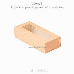 (Eco Tabox PRO 500) Коробка с окном 170*70*40 DoEco (50/400)