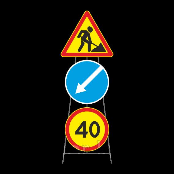 Опора под дорожные знаки