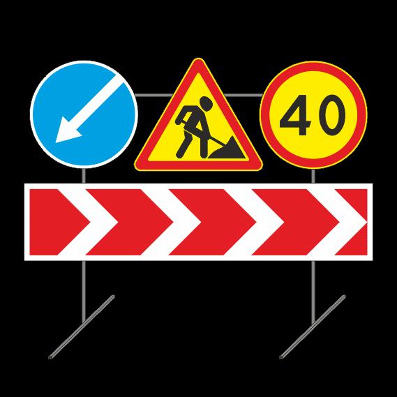 Опора переносная для дорожных знаков