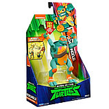 Turtles Микеланджело ниндзя-атака, 15 см серия ROTMNT, 81403, фото 4