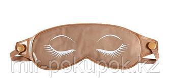 Маска для кожи вокруг глаз с глиной, бежевая