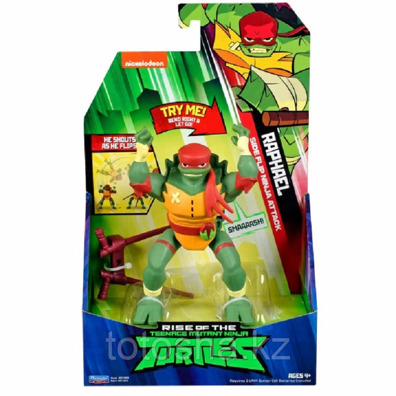 Turtles Рафаэль ниндзя-атака, 15 см серия ROTMNT, 81404