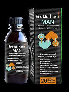 """Биогенный мужской растительный концентрат жидкий """"Erotic hard"""""""