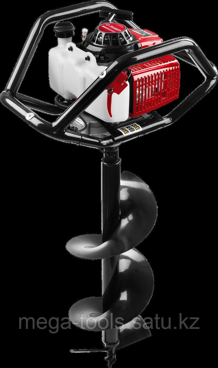 Мотобур ЗУБР (бензобур) со шнеком МБ2-300 Н