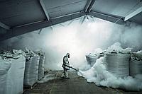 Как правильно провести фумигацию склада?