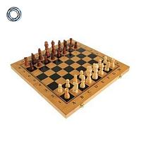 Настольная игра 3 в 1 шахматы, шашки и нарды 48 x 48 см