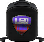 Prestigio LEDme backpack, animated backpack with LED display, Polyester+TPU material, connection via