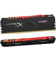 Модуль памяти Kingston HyperX Fury RGB HX436C17FB3A-8 DDR4 DIMM 8Gb 3600 MHz CL17