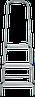 Стремянка комбинированная 3 ступени, фото 2