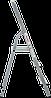 Стремянка комбинированная 3 ступени, фото 3