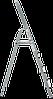 Стремянка комбинированная 4 ступени, фото 3