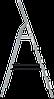 Стремянка комбинированная 5 ступеней, фото 3