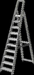 Стремянка комбинированная 10 ступеней