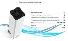 Бактерицидный рециркулятор воздуха SOEKS. Кварцевый облучатель ультрафиолетовый, фото 3