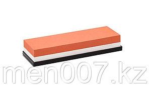 Камень для заточки бритв и ножей 1000 и 3000 грит (двусторонний) с подставкой