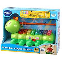 Музыкальная игрушка для детей Ксилофин «Звуки сафари» Vtech, фото 1