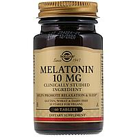 Solgar, Мелатонин, 10 мг, 60 таблеток