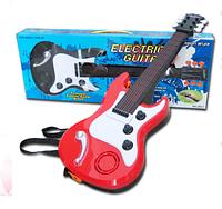 Детская электро гитара 389-7