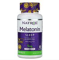 БАД Мелатонин 5 мг с медленным высвобождением и повышенной силой действия (100 таблеток)