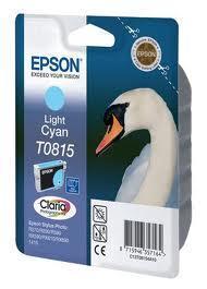 Картридж Epson C13T11154A10 (0815) R270/290/RX590_HIGH светло-голубой
